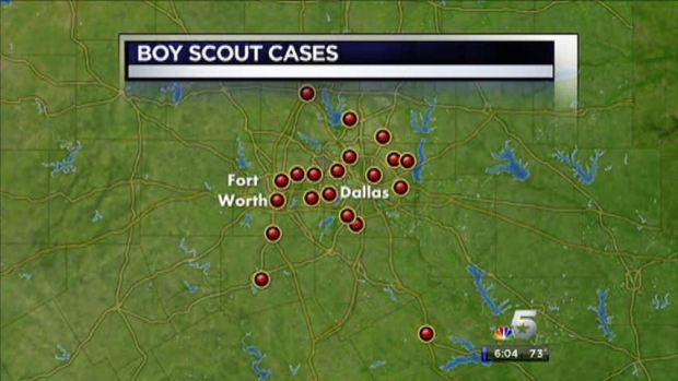 "[DFW] Locals Named in Boy Scout ""Perversion Files"""