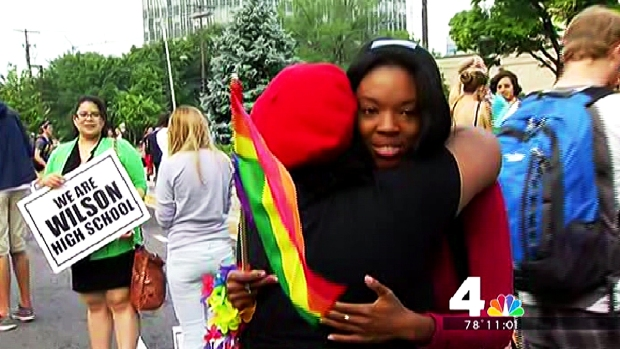 [DC] D.C. Students Counter-Protest Westboro Baptist Church