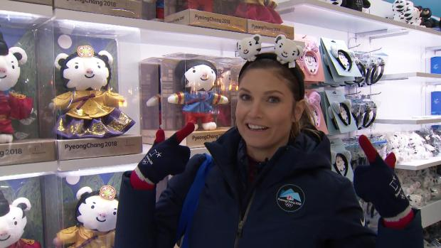 Julia Mancuso Takes Over the Winter Olympics Superstore