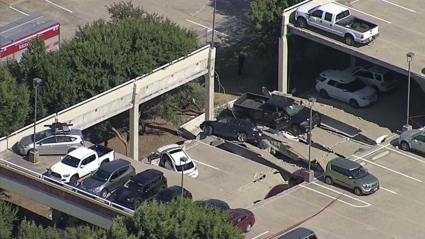 2nd Collapse at Irving Parking Garage