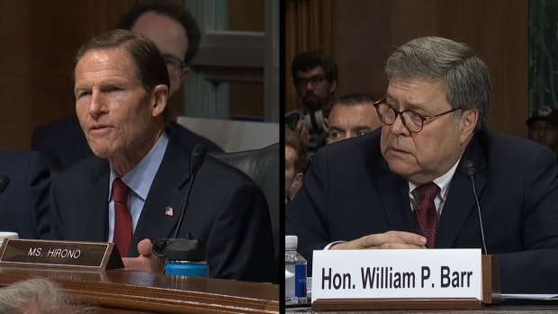 [NATL] Barr Testifies: No 'Substantive' Conversations With White House About Ongoing Investigations