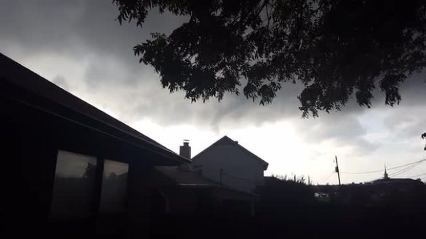 Funnel Cloud video Watauga