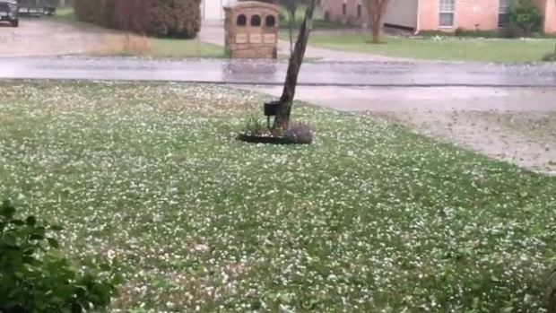 Decatur Hail storm