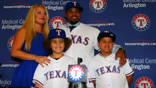 Rangers Introduce Prince Fielder