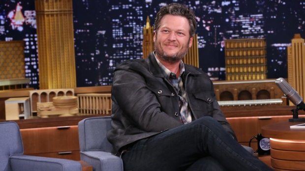 "[NATL] Fallon: Blake Shelton Brags About Wins on ""The Voice"""