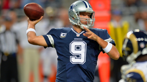 Images from the Sideline: Cowboys Vs. Rams