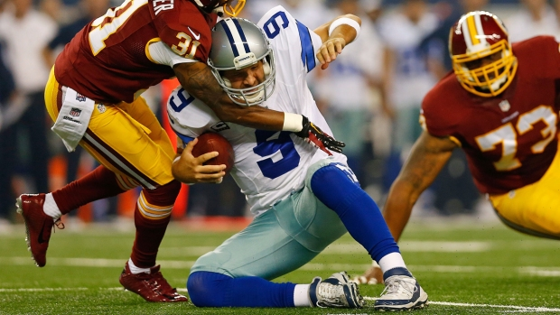 Images from the Sideline: Cowboys Vs. Redskins