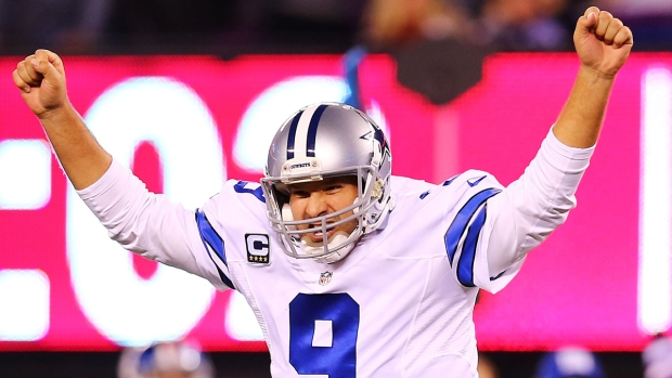 Images from the Sideline: Cowboys Vs. Giants