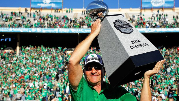 UNT Wins 2014 Heart of Dallas Bowl