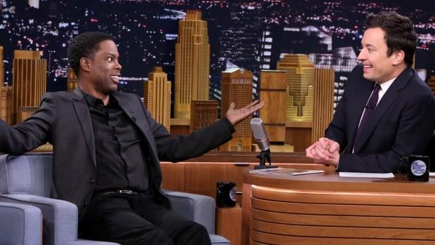 [NATL] Chris Rock Gives Jimmy Fallon Dad Advice