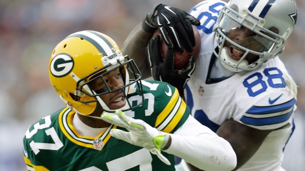 Images from the Sideline: Cowboys Vs. Packers