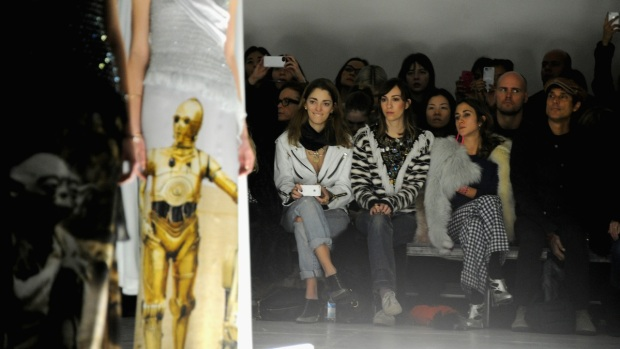 "[NATL] Rodarte's ""Star Wars"" Couture at NY Fashion Week"