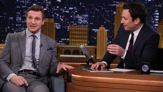 "[NATL] Liam Neeson Talks ""Family Guy"" Diss on ""The Tonight Show"""
