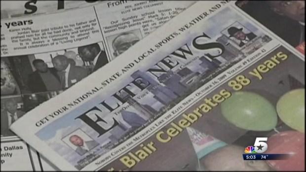[DFW] Dallas Newspaper Publisher William Blair Dies