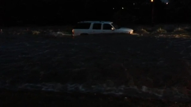 [DFW] SUV Water Rescue in Sanger