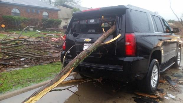Tornado Damage - December 26, 2015
