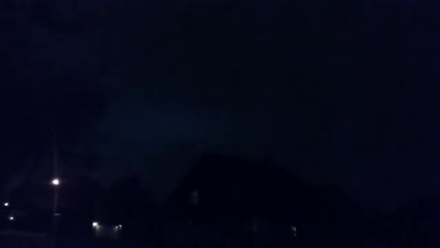 Lightning over Euless