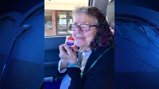 [DFW] 82-Year-Old Votes for First Time, Hopes to Inspire Others