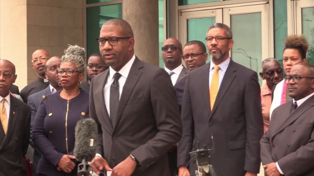 African-American Pastors Coalition Hold Press Conference