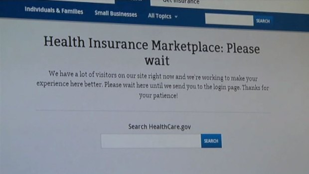 [DFW] Website Overwhelmed on Day One of ACA