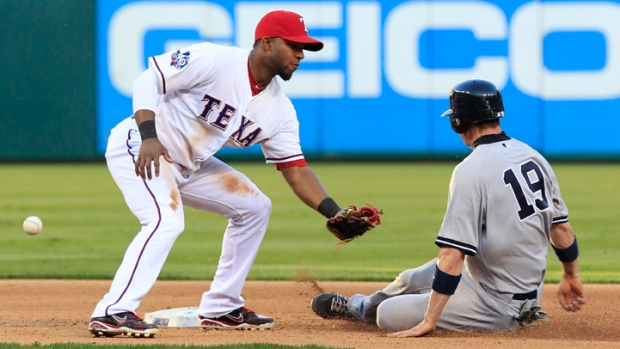 "Elvis Andrus Gets A Short ""Vacation"""