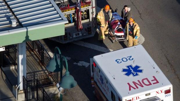 [NY] Metro-North Derailment Victims Treated at Hospitals