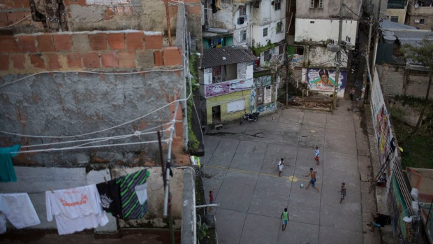 [NATL] Photo Essay: Soccer Fields Are Everywhere in Rio