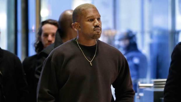 Kanye Enters Trump Tower