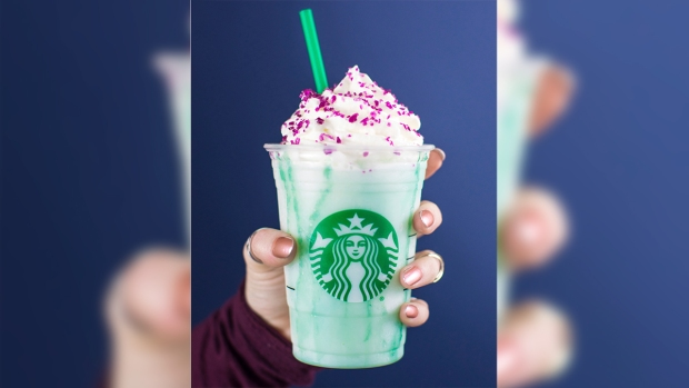 Wild Food Crazes: Fortune-Telling 'Crystal Ball' Frappucino