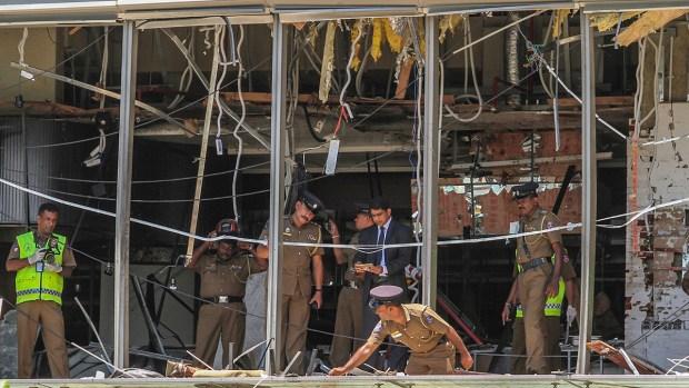[NATL] Scores Dead in Sri Lanka, Hundreds Injured From Multiple Easter Sunday Bombings