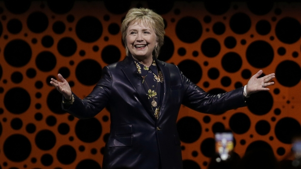 [NATL] Hillary Clinton Gives First Major Post-Election Speech at Event for Businesswomen