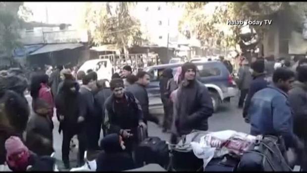 Families Prepare for Aleppo Evacuation