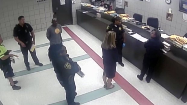 RAW: Amber Guyger Booked Into Jail
