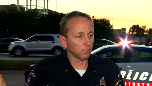 Officer-involved shooting at Mall in Arlington, Texas