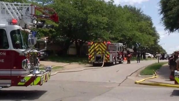 [DFW] Officer Uses Taser, Fire Erupts With Man Doused in Gasoline