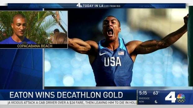 [NATL-LA] Ashton Eaton on His Second Olympic Gold in Decathlon