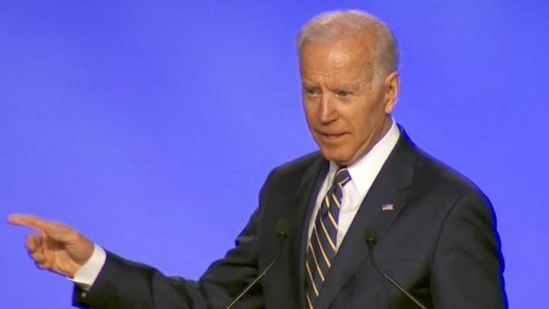 [NATL] Biden Jokes About Hugs in 1st Speech Since Complaints About Behavior