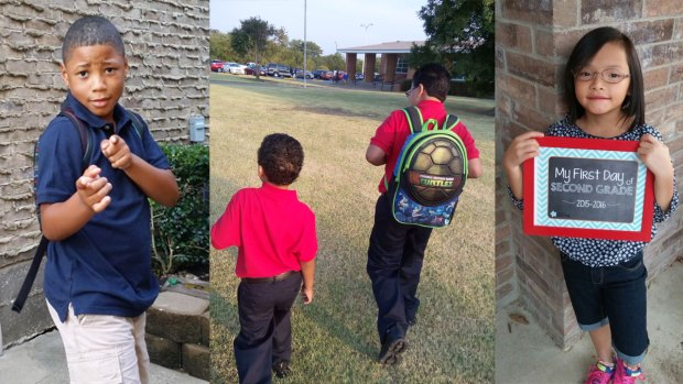 First Day of School 2015 - Gallery I