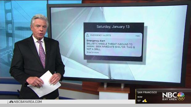 [NATL-BAY] Bay Area Residents in Hawaii Recall Chaos After False Alarm