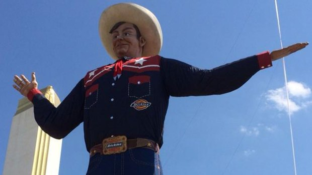 Big Tex Ready for State Fair Debut