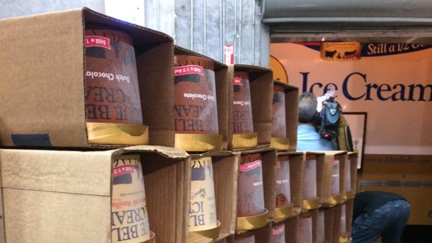 Blue Bell Returns to Texas Grocery Stores