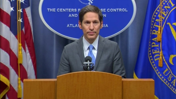CDC Director Addresses Reporters About Ebola