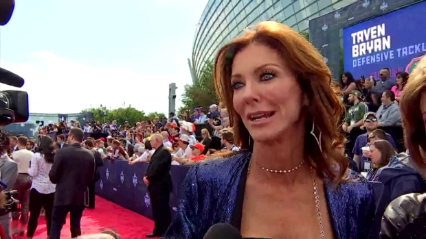 Charlotte Jones Anderson From The NFL Draft Red Carpet