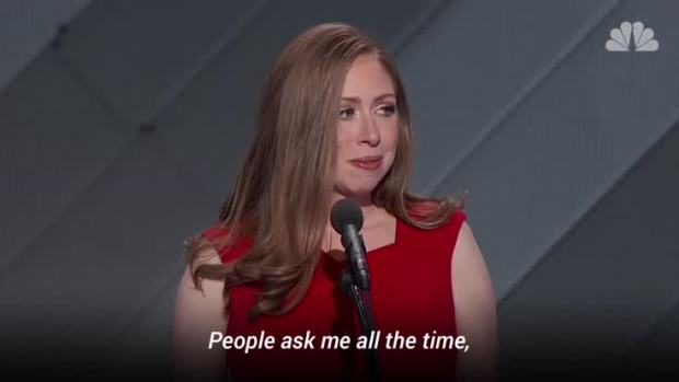 [NATL] Chelsea Clinton Speaks at the Democratic National Convention
