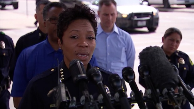 Dallas PD Chief: 'We stand here today with our hearts broken'