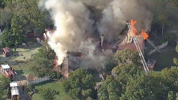 [DFW] Massive Fire on Buckner Boulevard in Dallas