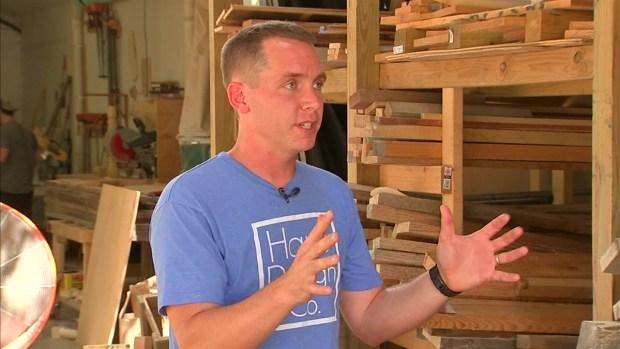 Magnolia market behind the scenes nbc 5 dallas fort worth for Is clint harp still on fixer upper