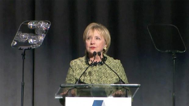[NATL] Hillary Clinton Speaks on President Trump's Military Strike in Syria