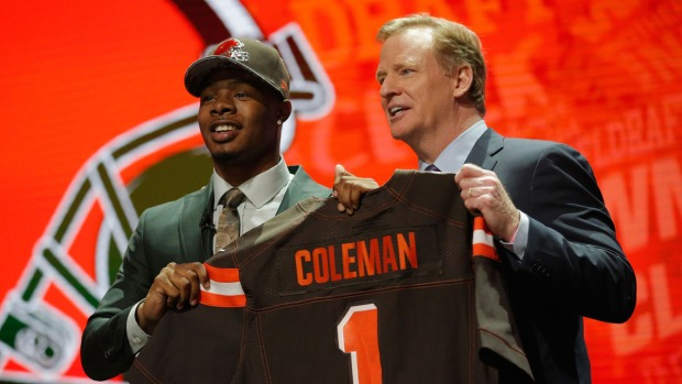 Corey Coleman Discusses Attending NFL Draft