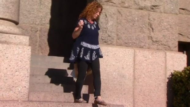 [DFW] Tonya Couch Out of Jail, Dons Ankle Monitor